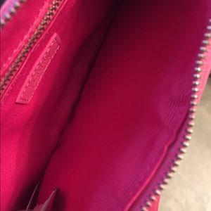 J. Crew Bags - J. Crew Pink Solid Silk Blend Purse NWT